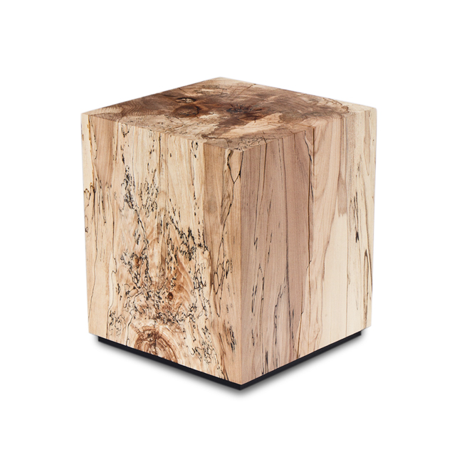 Spalted Beech Block | Alex Brooks Furniture | Organically Inspired Wood Furniture Dorset