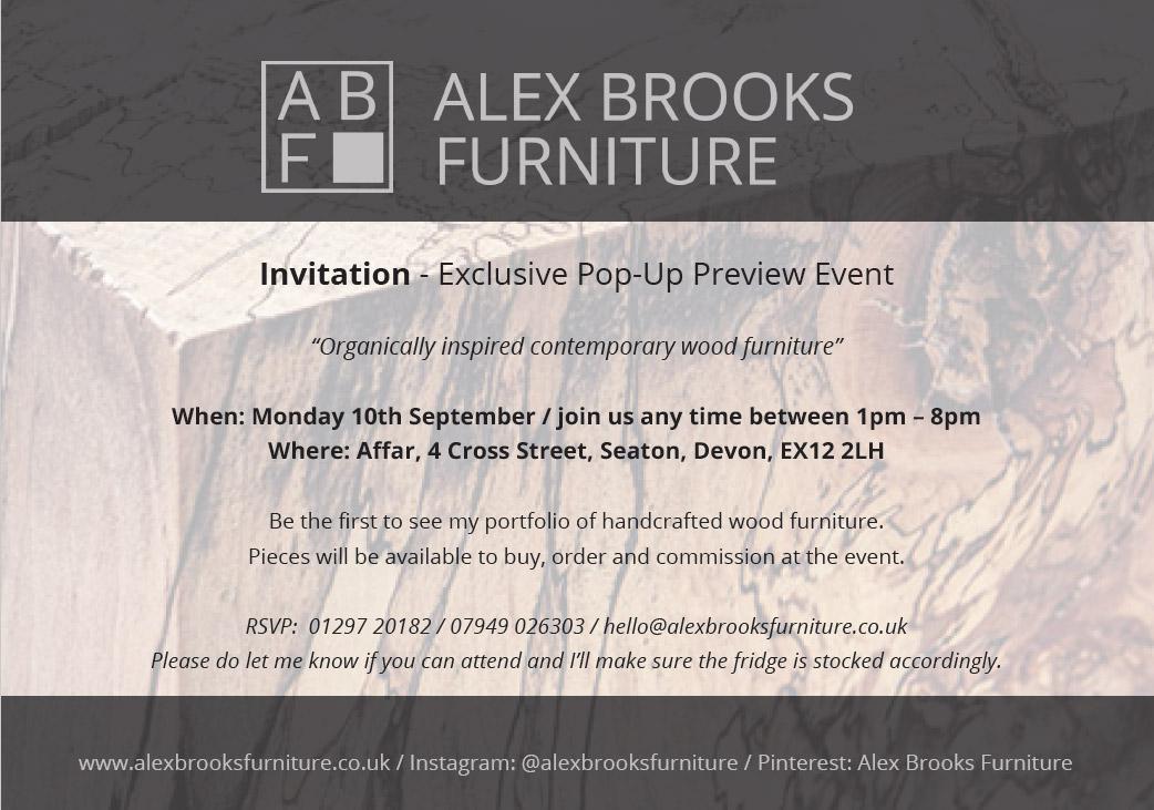 Invitation - Exclusive Preview Event