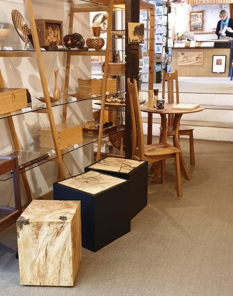 Alex Brooks Furniture in Dansell Gallery Dorset